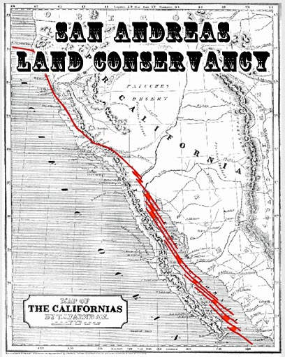 San Andreas Land Conservancy Map